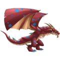 The Giant Wings Dragon in Dragon City
