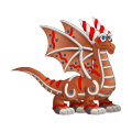 The Gingerbread Dragon in Dragon City