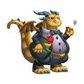 The Godfather Dragon in Dragon City