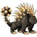 The Hedgehog Dragon in Dragon City