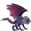 The Howl Dragon in Dragon City