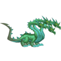 The Hydra Dragon in Dragon City