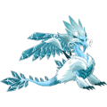 The Ice Dragon in Dragon City