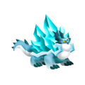 The Iceberg Dragon in Dragon City