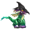 The Imp Dragon in Dragon City
