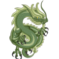 The Jade Dragon in Dragon City