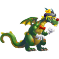 The Juggler Dragon in Dragon City