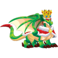 The King Dragon in Dragon City