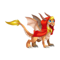 The Little Red Riding Hood Dragon in Dragon City