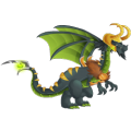 The Loki Dragon in Dragon City