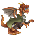 The Middle Earth Dragon in Dragon City