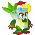 The Mojito Dragon in Dragon City