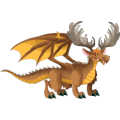 The Moose Dragon in Dragon City