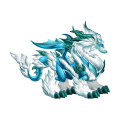 The Mystic Blizzard Dragon in Dragon City