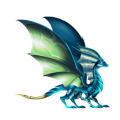 The Nocturnal Dragon in Dragon City