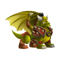 The Orc Dragon in Dragon City