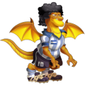 The Pelusa Dragon in Dragon City