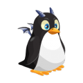 The Penguin Dragon in Dragon City