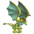 The Pterodactyl Dragon in Dragon City