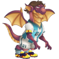 The Pulga Dragon in Dragon City