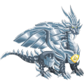 The Pure Metal Dragon in Dragon City