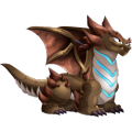 The Quake Dragon in Dragon City