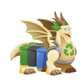 The Recycling Dragon in Dragon City