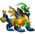 The Robin Hood Dragon in Dragon City