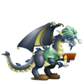 The Scrooge Dragon in Dragon City