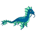The Sea Dragon in Dragon City