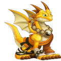 The Shaolin Dragon in Dragon City