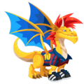 The Soccer Dragon in Dragon City