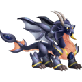 The Space Dragon in Dragon City