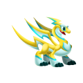 The Spark Dragon in Dragon City