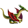 The Speed Dragon in Dragon City