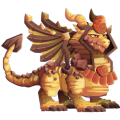 The Sphynx Dragon in Dragon City