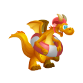 The Summer Dragon in Dragon City