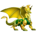 The Sylvan Dragon in Dragon City
