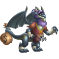 The Thief Dragon in Dragon City