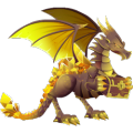 The Treasure Dragon in Dragon City