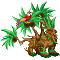 The Tropical Dragon in Dragon City
