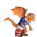The Zizou Dragon in Dragon City