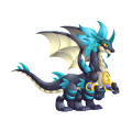 The Zodiac Sagittarius Dragon in Dragon City