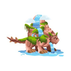 waterfall dragon breeding