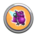 Bigface Dragon Button