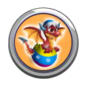Eggster Dragon Button