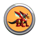 Iron Dragon Button