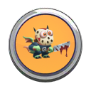 Jason Dragon Button