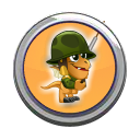 Soldier Dragon Button