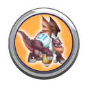 Touchdown Dragon Button